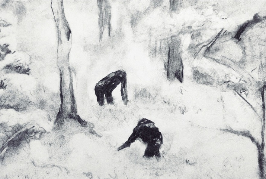 Apes in the Snow