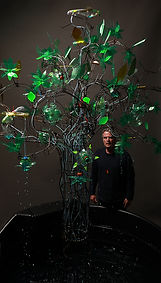 Silas Birtwistle with Biomimic Tree