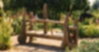 Driftwood Garden Bench by SIlas Birtwistle
