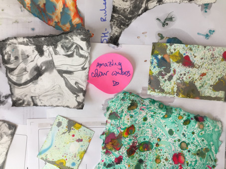 Nature-themed art sessions spark creativity & joy: Priory Hospital School project update