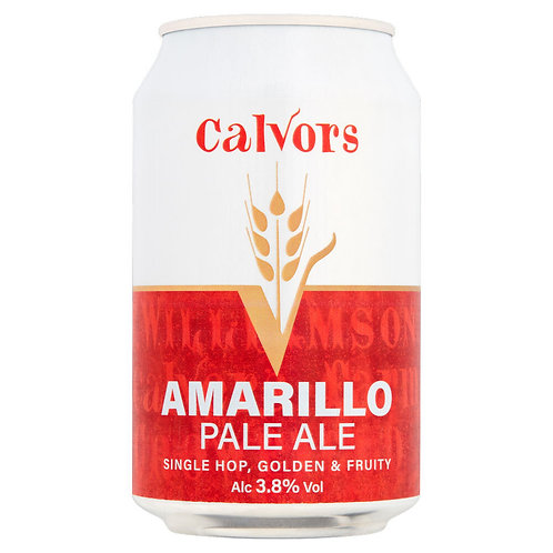 Case of 12 - Calvors Brewery - Amarillo Pale Ale