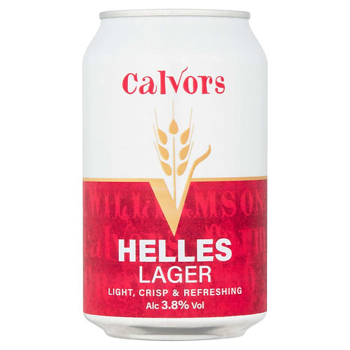 Case of 12 - Calvors Brewery - Helles Lager