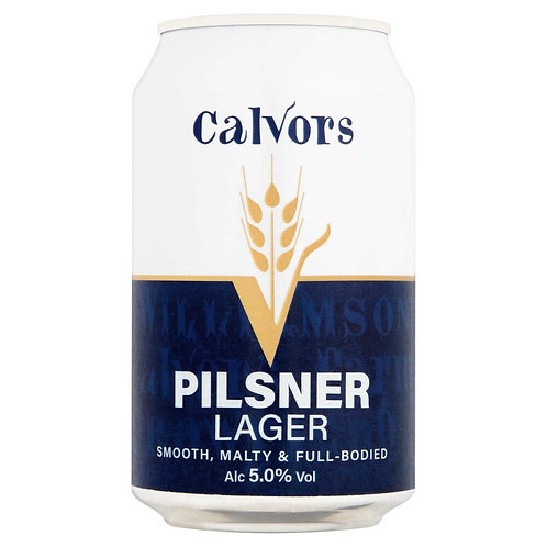 Case of 12 - Calvors Brewery - Pilsner Lager