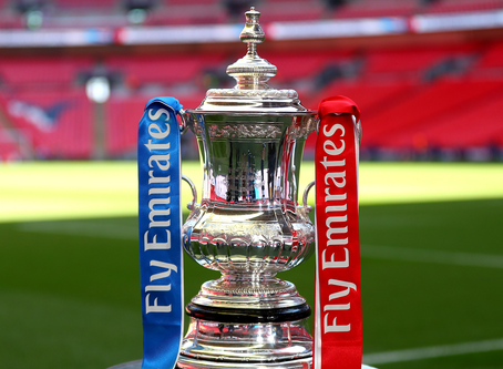"""FA CUP """"SOLD OUT"""""""