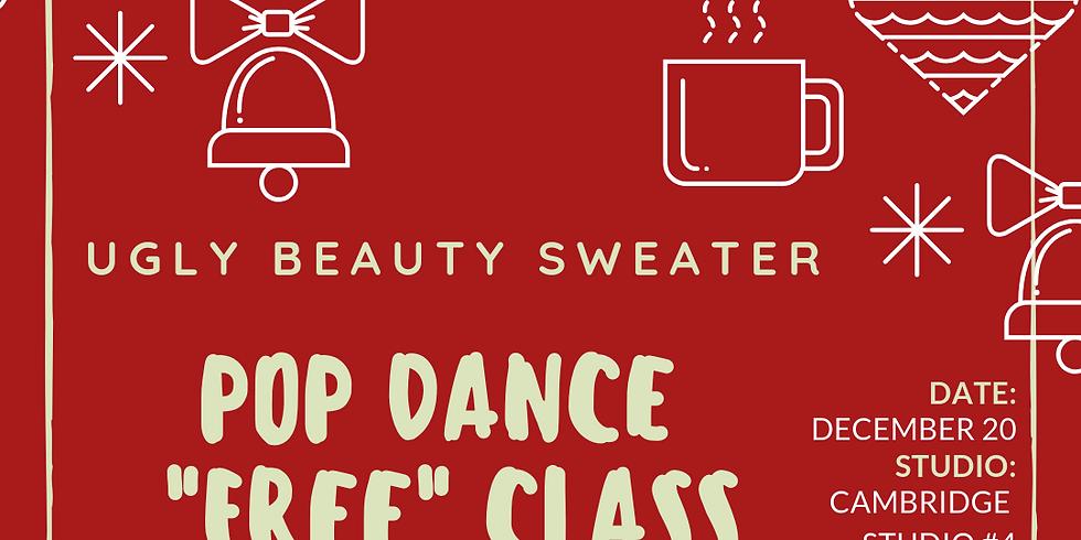 """Ugly Beauty Sweater"" Pop Dance Class"