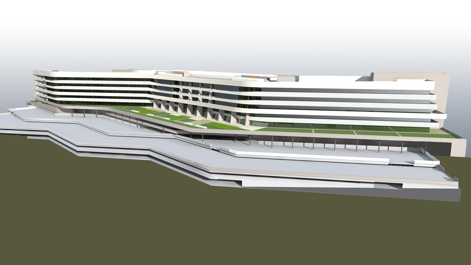 CEMS South Elevation