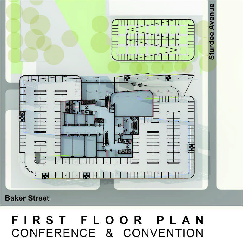 Sasol HQ First Floor Plan
