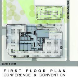 Sasol HQ First Floor Plan