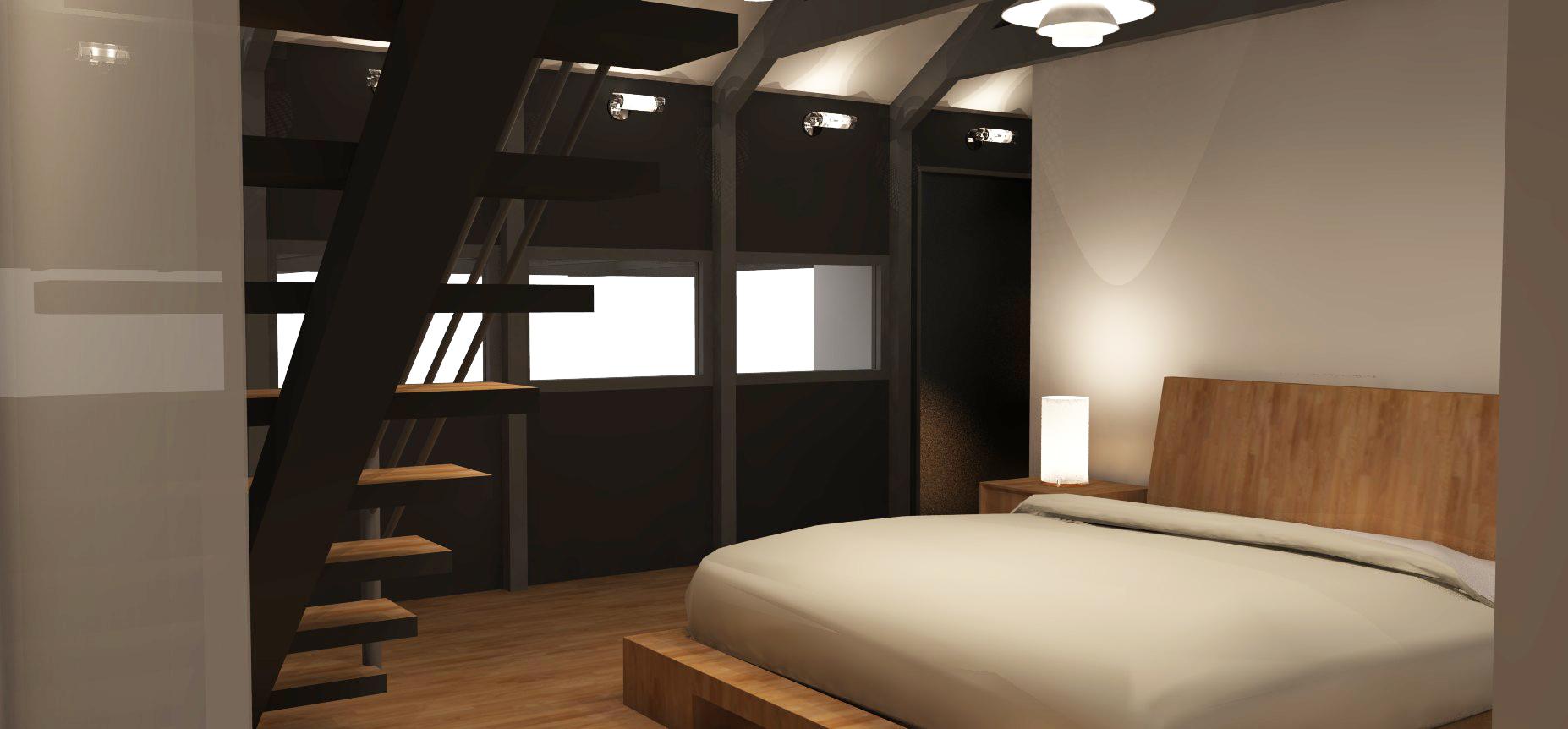 Residence Sandgate - New Master Bedroom