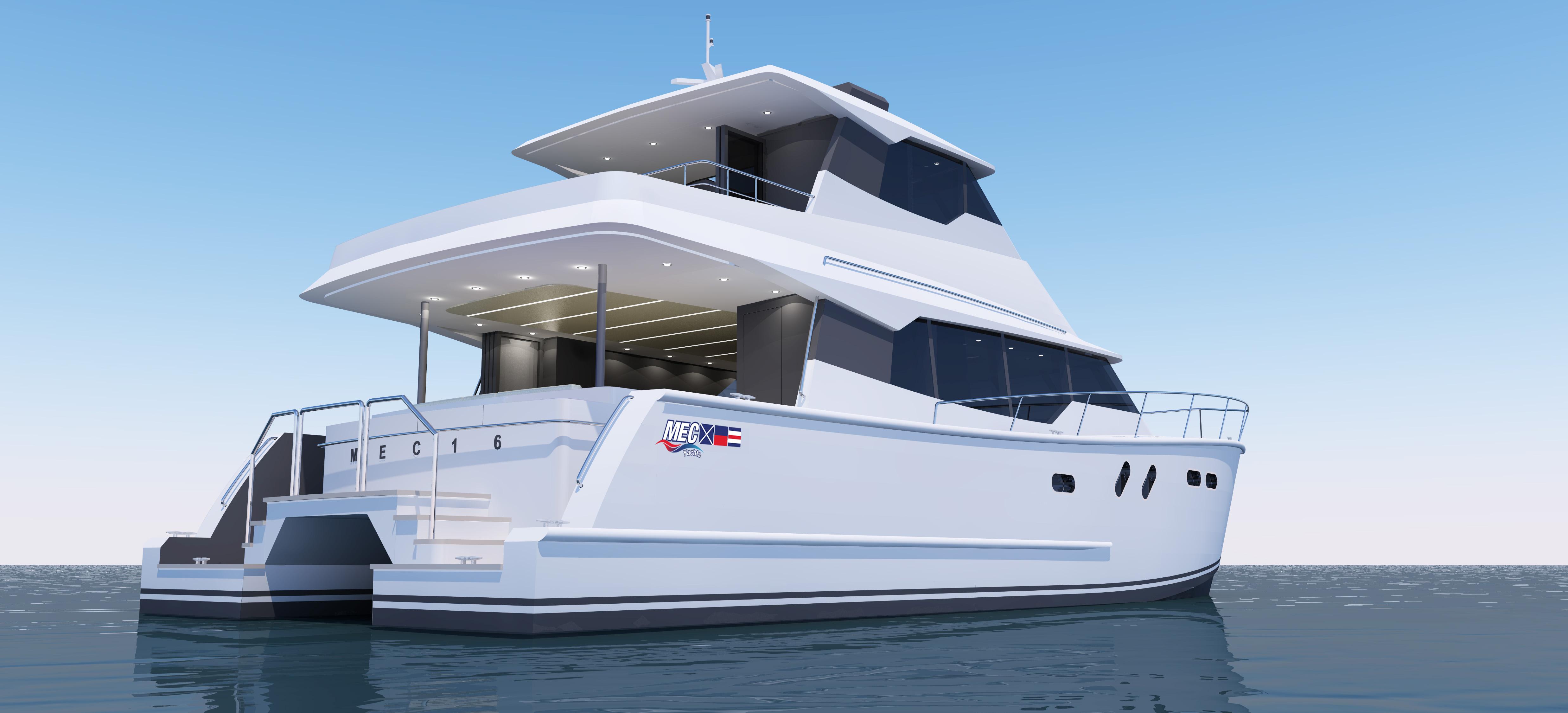 16.75m Starboard Quarter Approach