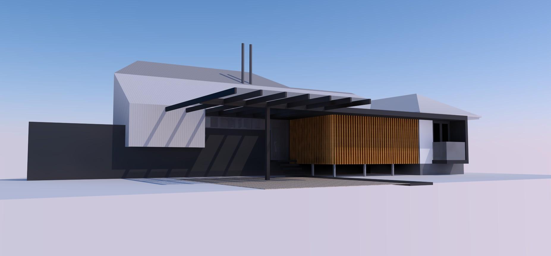 Residence Sandgate - Approach