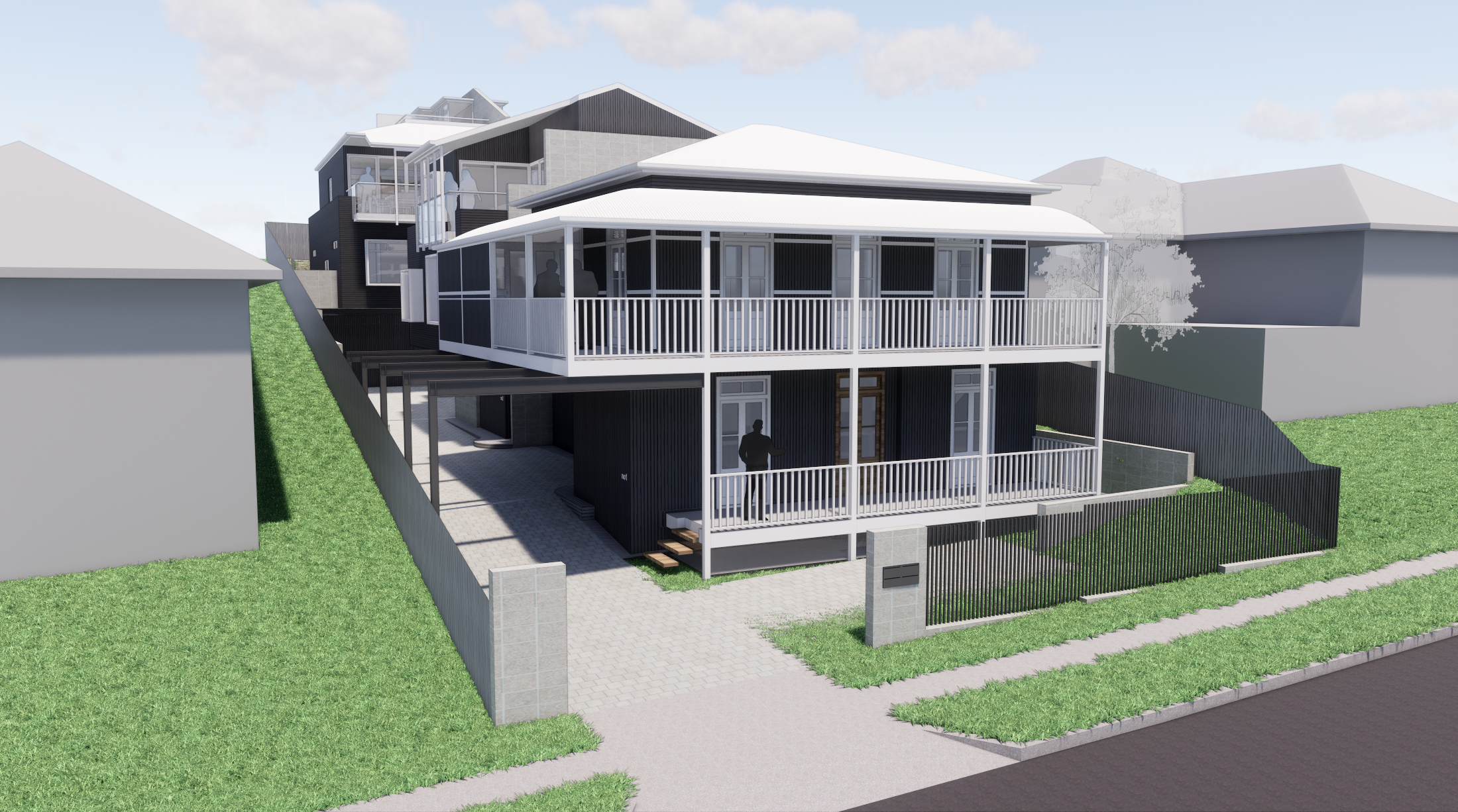 Greenslopes - Street Approach