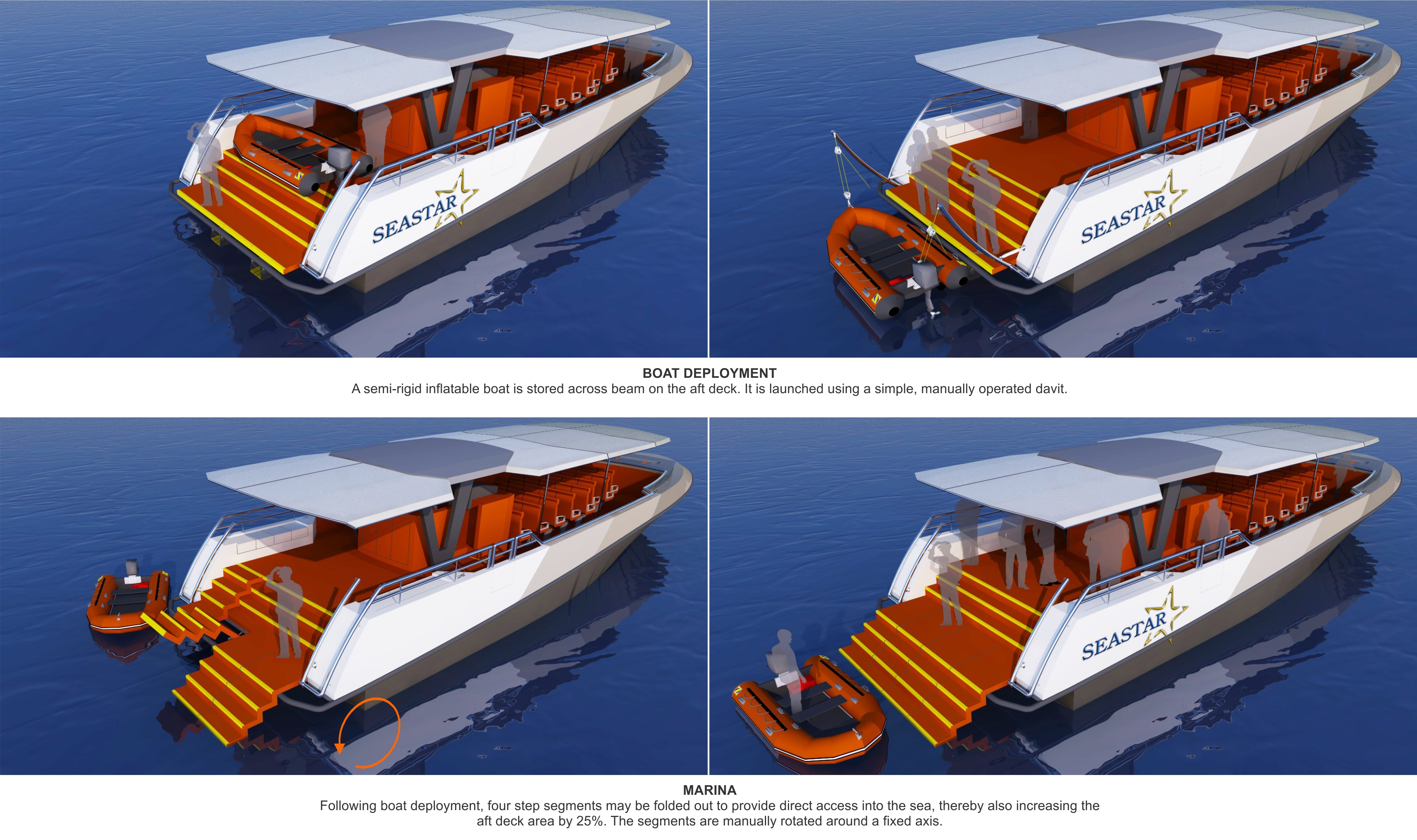 17.5m Marina Deployment