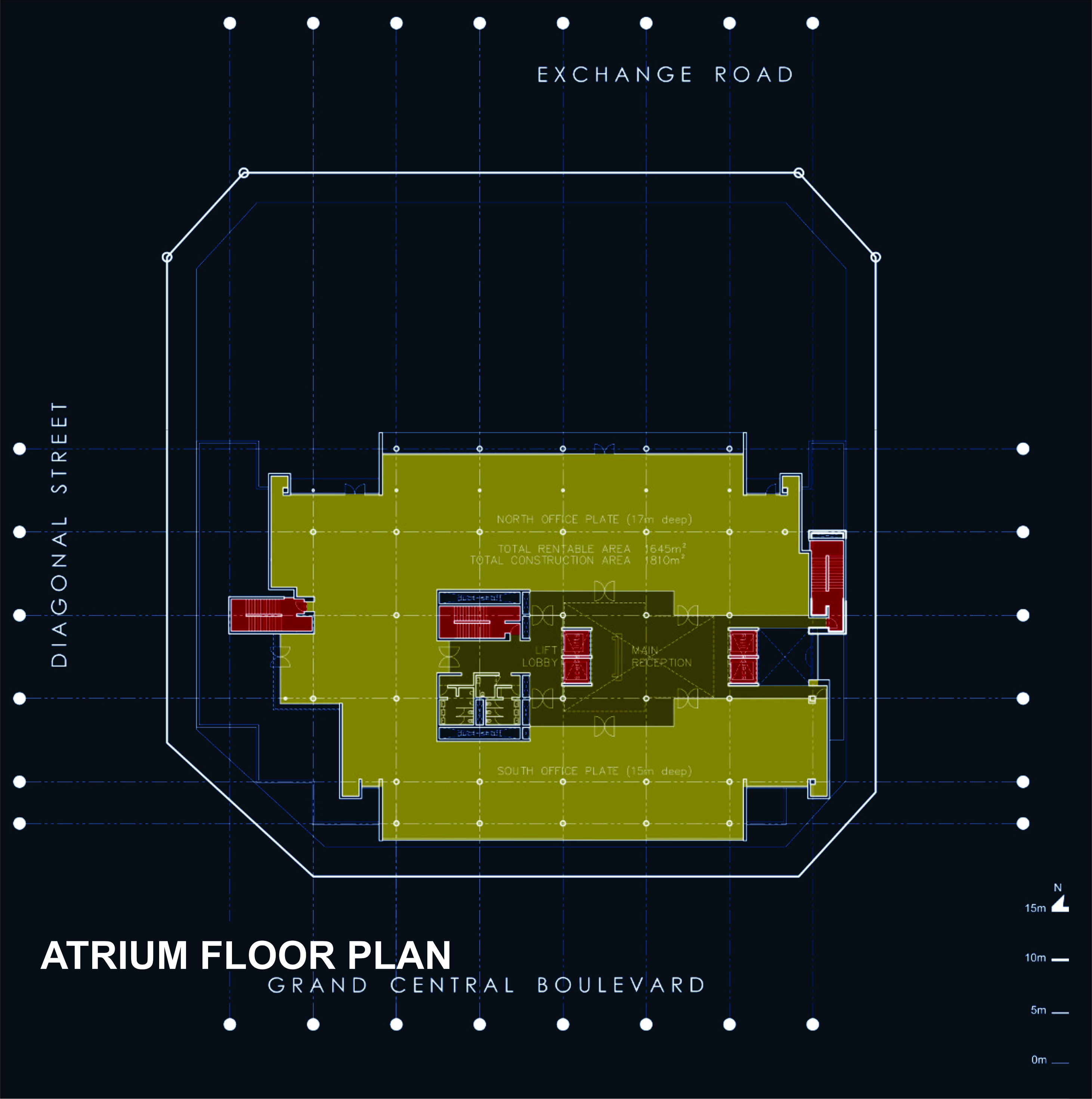 44 Plan Atrium Floor