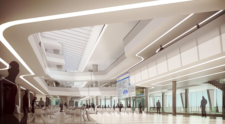 CEMS Original Design for Main Atrium