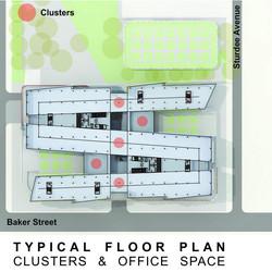 Sasol HQ Typical Floor Plan