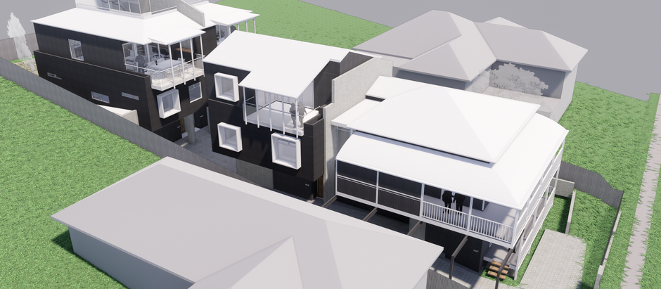 ON THE DRAWING BOARD: Townhouse Development in Greenslopes