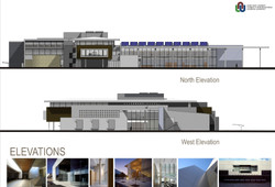 North&West Elevations