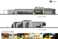 South&East Elevations