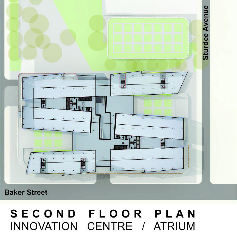 Sasol HQ Second Floor Plan