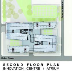 Sasol HQ Second Floor Plan