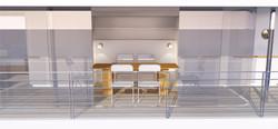 Riverhouse Lower Deck Dining Room