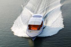 17.5m Port Bow Cruising
