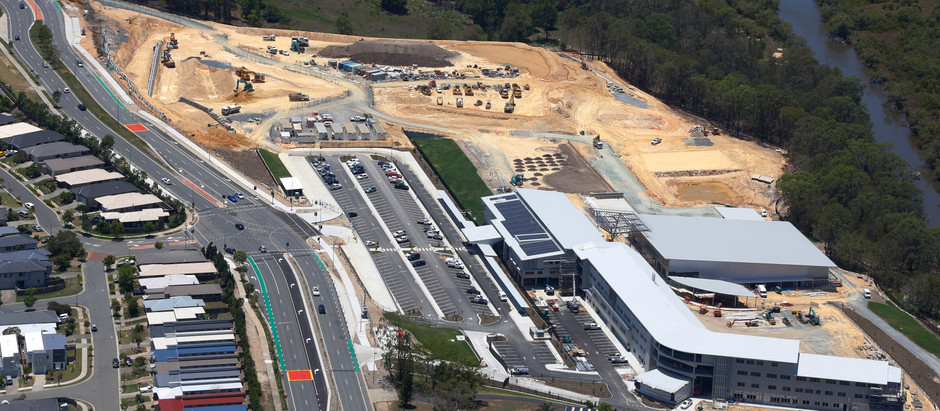 NEARING COMPLETION: FOXWELL STATE HIGH SCHOOL