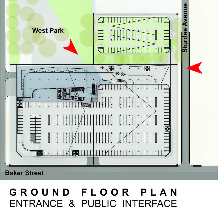 Sasol HQ Ground Floor Plan