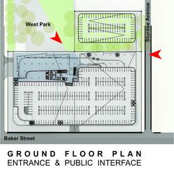 Sasol HQ Ground Floor Plan