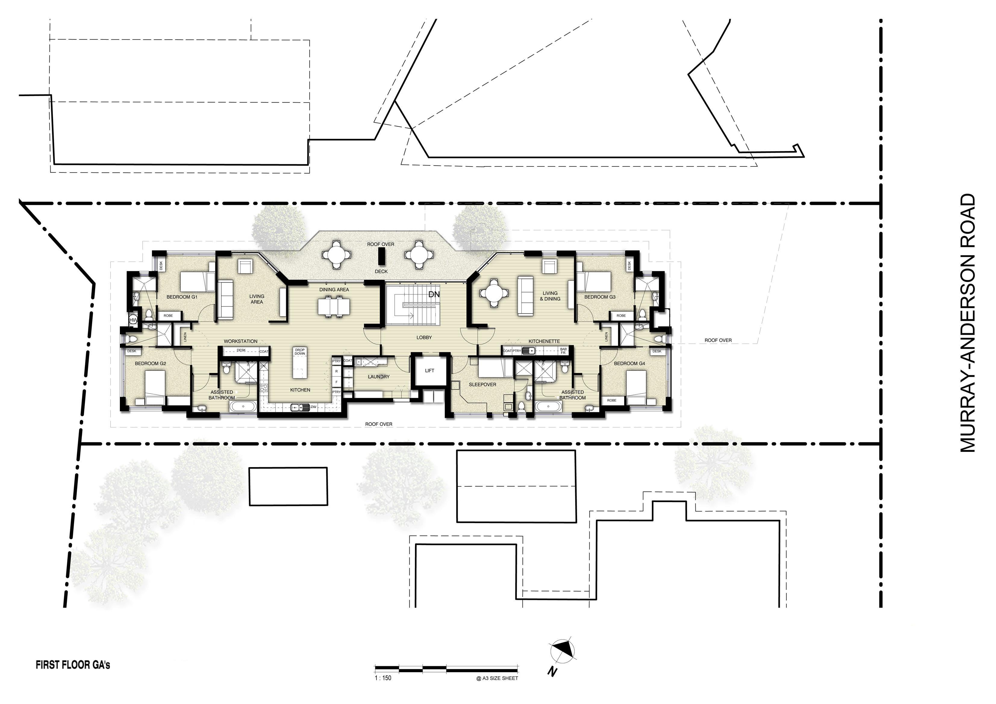 Cloverleaf - First Floor Plan