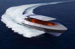 17.5m Starboard Bow at Speed