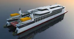 150m Starboard Quarter