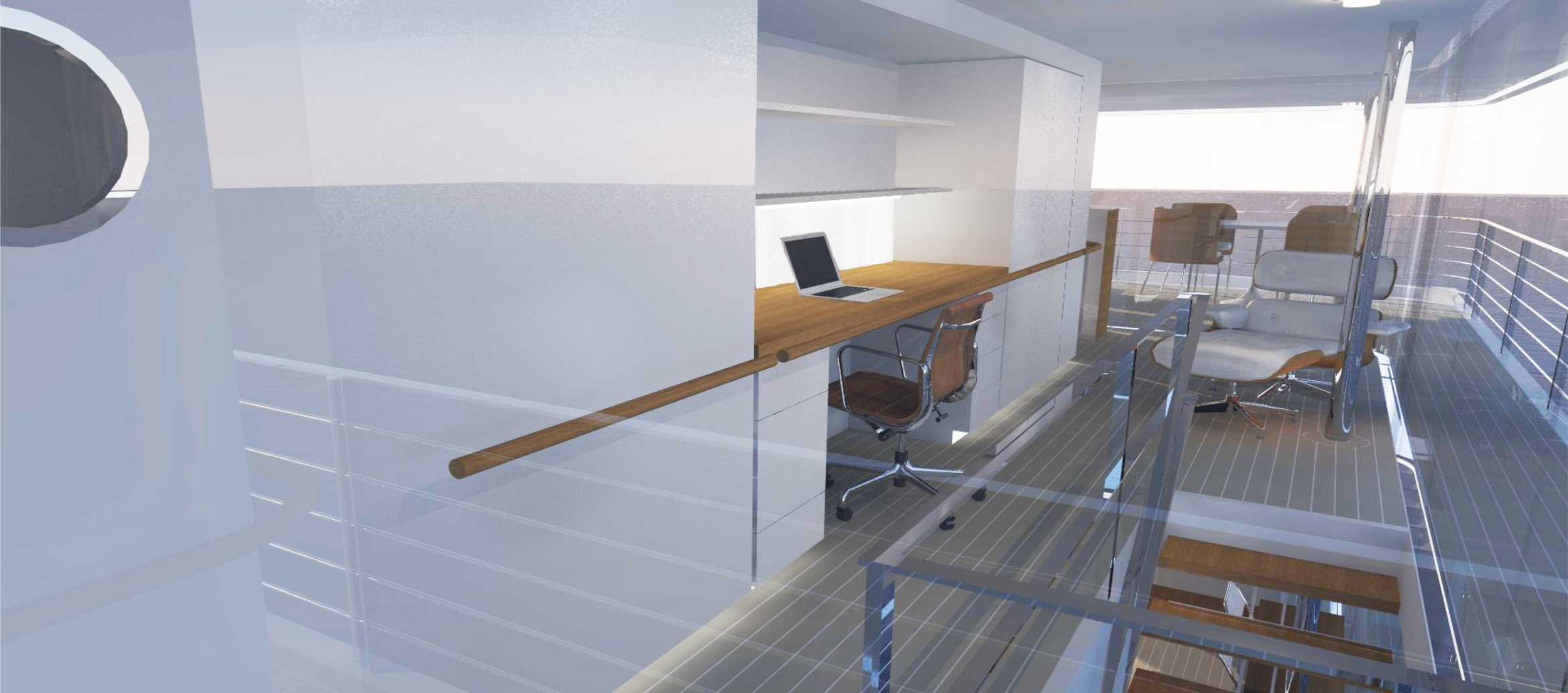 Riverhouse Upper Deck Study