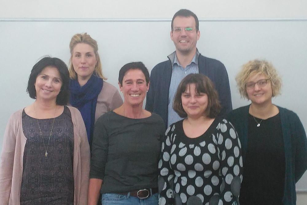 Het projectteam van ESF HR+