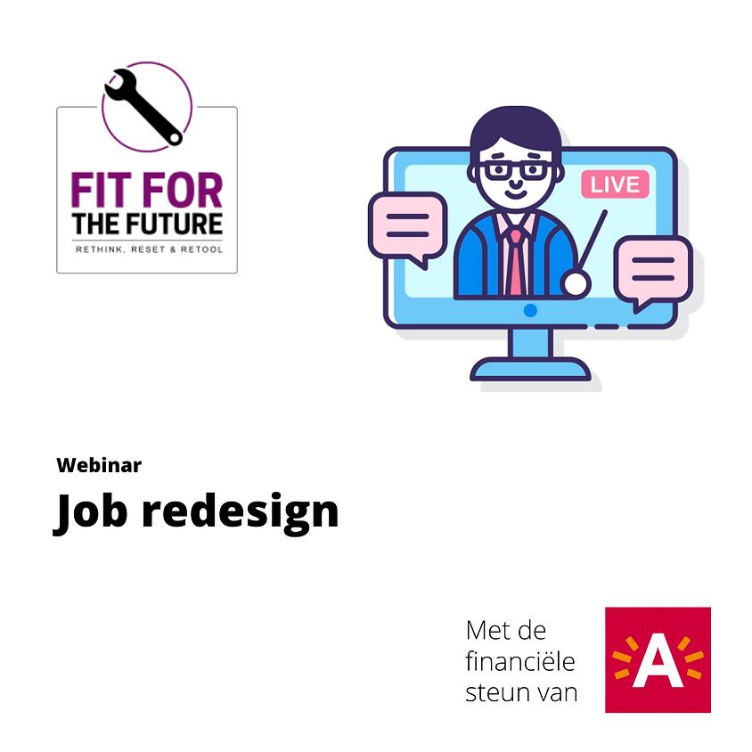 Job redesign: sleutelen en laten sleutelen