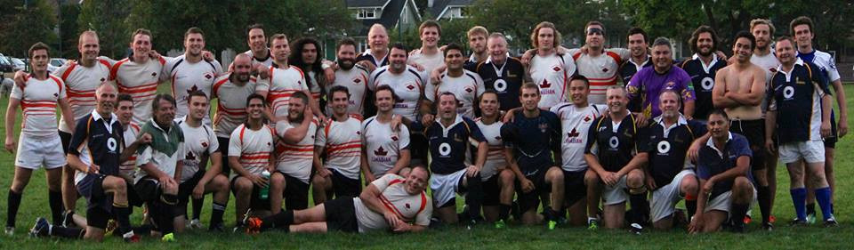 Meraloma Men and Legends Rugby teams