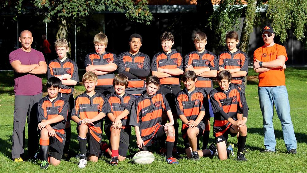 U14 Meraloma Junior Rugby Team