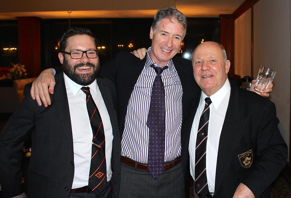 Dan Fumano, Gus Fumano, and friends at Gus Fumano Roast