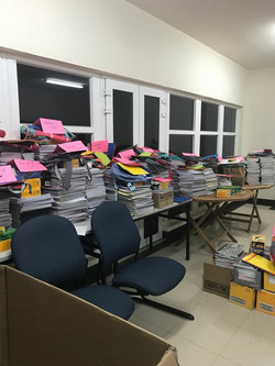 More notebook and book bag donations_