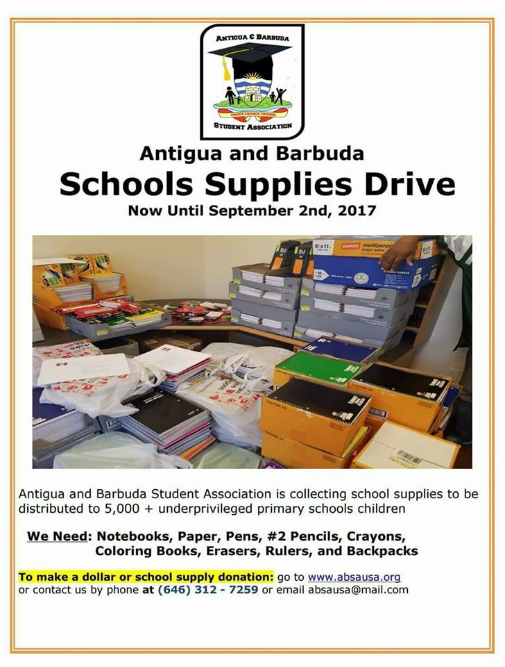 School Supply Drive