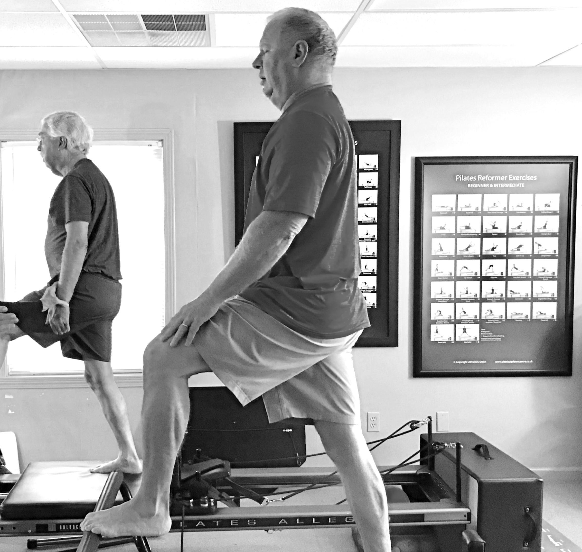 IN STUDIO MEN'S Pilates