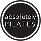 Absolutely Pilates Circle Logo Black and