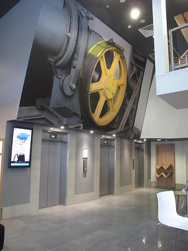 Elevator display