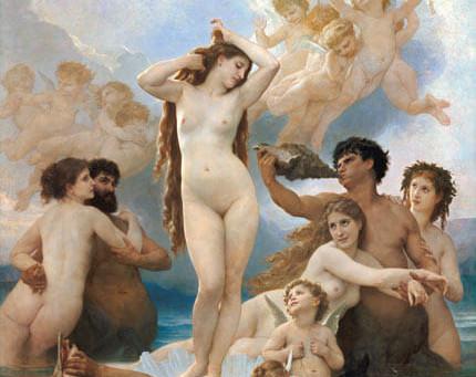 O Nascimento de Eros e Afrodite em Hesíodo