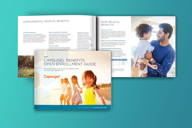 Capsugel HR benefits booklet
