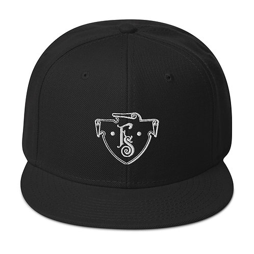 FS Crest Snapback Hat Black