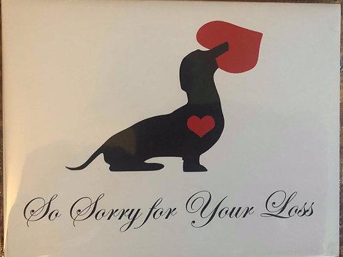 ACDR Sympathy Card