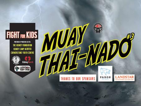 MUAY THAI-NADO #3 - BE BLOWN AWAY  Here Come the Juniors...
