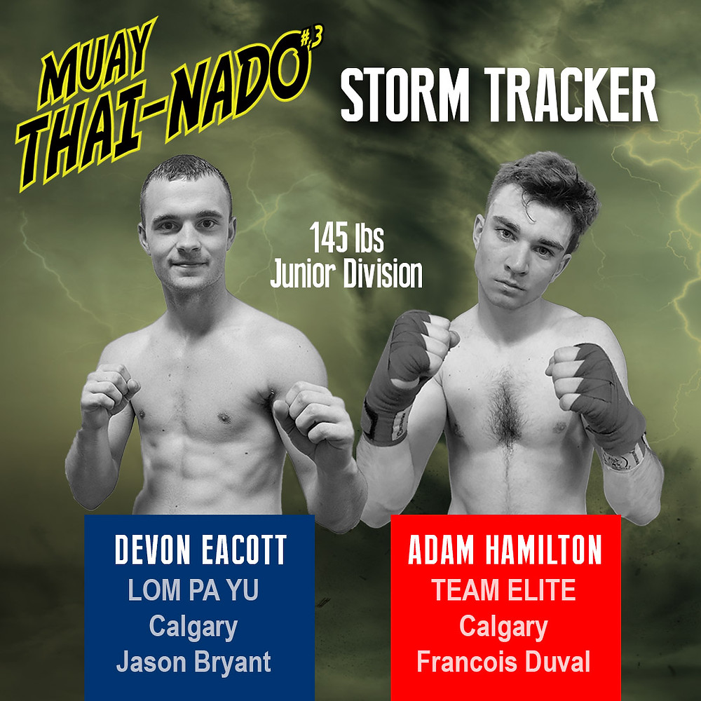 Muay Thai Nado #3 - Devon Eacott vs. Adam Hamilton
